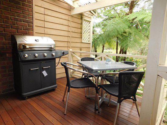 Barbecue terrazzo