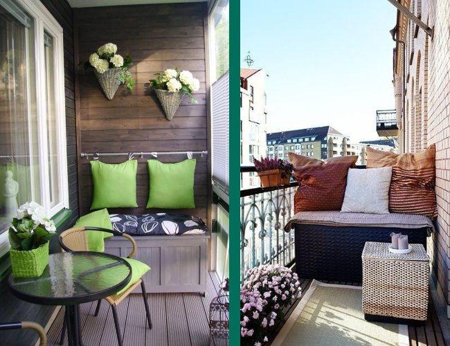 Baule in balcone