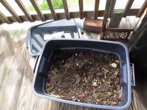 Compost sul balcone