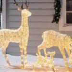 figure luminose natalizie da esterno