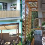 Frangisole per balcone o terrazzo