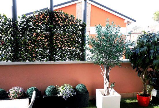 Frangivista verde da balcone