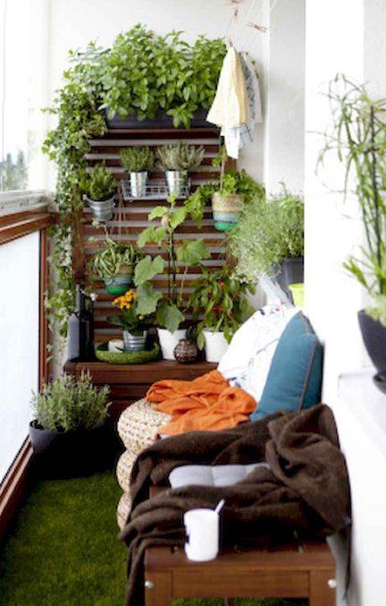 Giardino verticale balcone