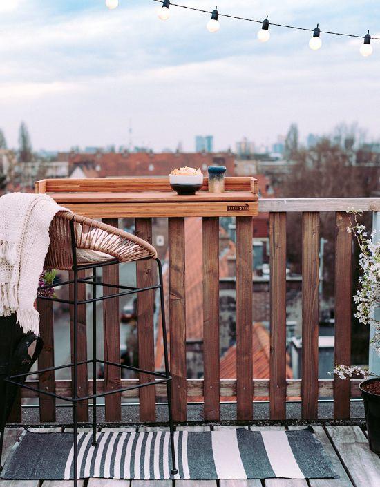 tavolo balcone stretto e lungo