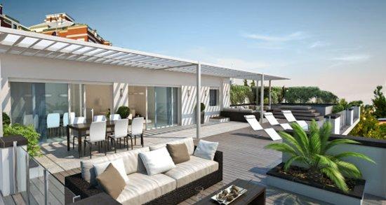 Idea terrazzo attico