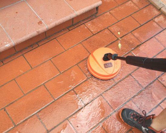 idropulitrice pulizia cotto