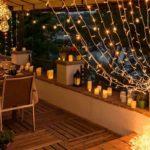 Luci di Natale per balcone