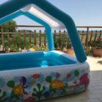 Piscine da terrazzo o balcone per bambini
