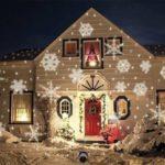 Proiettore natalizio da esterno