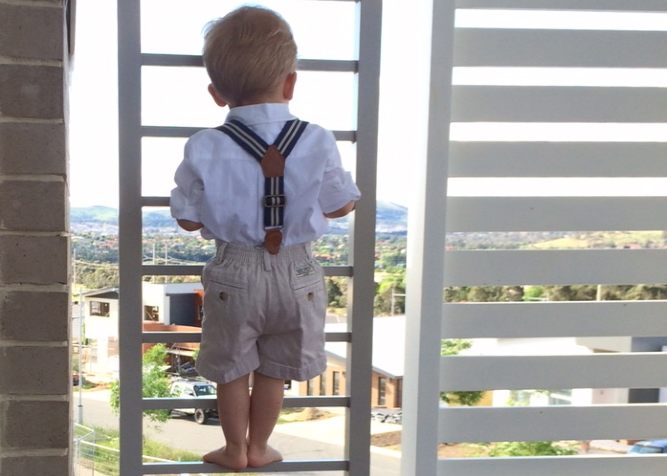 protezione bimbo per balcone
