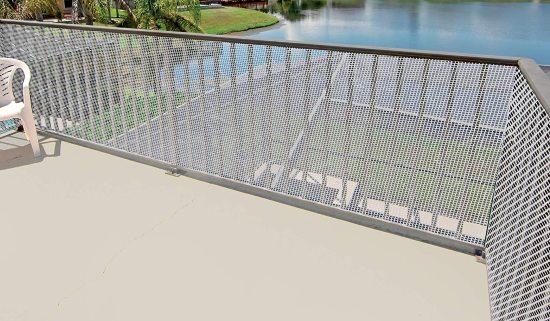 Rete protettiva per bambini da balcone