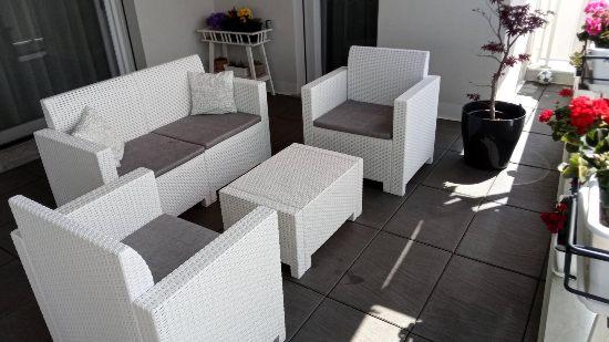 Set salotto da balcone