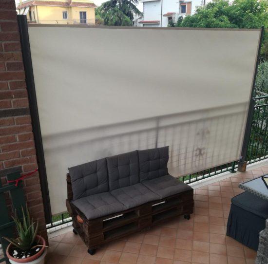 Tenda frangivista balcone